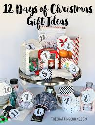 Easy 12 Days Of Christmas Idea  Printables  Inexpensive Gift Gifts In 12 Days Of Christmas
