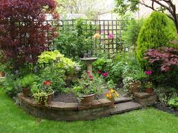 fabulous potted plants with raised flower bed for small garden regarding proportions 1024 x 768