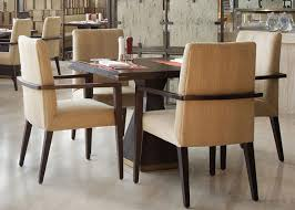 5 Star Hotel Modern Wooden Dining Room Tables High End