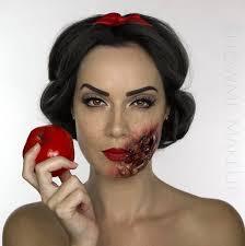 makeup artist transforms herself into dead disney princesses boing boing
