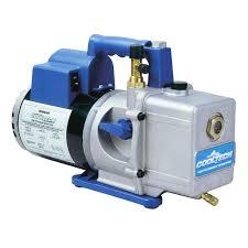 6 cfm vacuum pump 110 115v 220 250v robinair 15601