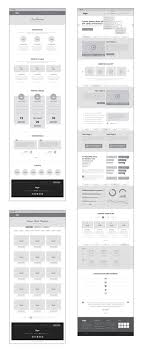 sle of wireframes generated with ux workflow wireframe and sitemap creator