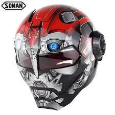 <b>Moto</b> Iron man Racing <b>Motorcycle Helmet</b> Motocross Full Face ...