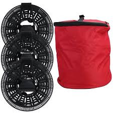 Install n' Store Christmas Light Storage Reel - 3 Spools, Bag and ...