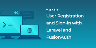 user registration and sign in with