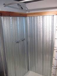 corrugated metal shower surround img 1340 img 1321