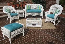 white madrid outdoor wicker patio furniture