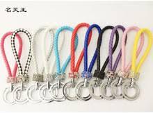 15 видов цветов Кристалл PU Веревка Брелок DIY для реального ...
