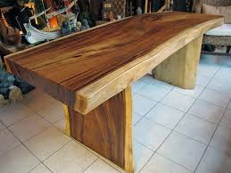 attractive wooden office desk. Amazing Natural Wood Office Desk Slab Live Edge Throughout Attractive Wooden I