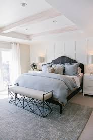 Gray and White Master Bedroom - Transitional - Bedroom - Salt Lake ...