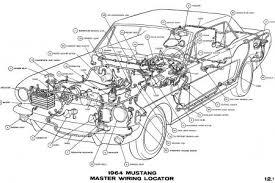 ford mustang engine diagram petaluma 1964 Mustang Wiring Diagram 1964 mustang wiring diagrams average joe restoration 1969 mustang wiring diagram