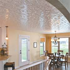 Traditional Ceiling Tile from ACP, Model: Traditional 2 in white