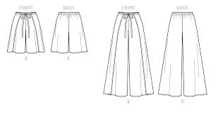 Wrap Pants Pattern Interesting K48 Misses' Wrap Shorts And Pants McCall's Butterick