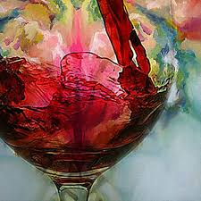 painting with wine best of 60 70cm hand painted abstract oil painting wine glass