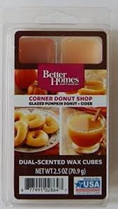 better homes and gardens scented wax cubes. Exellent Gardens Better Homes And Gardens Corner Donut Shop DualScent Wax Cubes Inside And Scented T