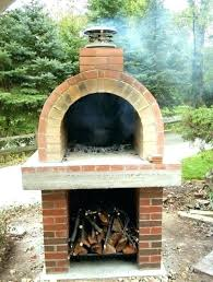 outdoor pizza oven kits for backyard pizza oven kits outdoor homemade plans wood burning can do for