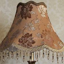floor lamp with fabric shade peacock resin old fashioned lamps 18