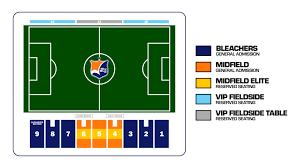 Single Game Tickets Sky Blue Fc