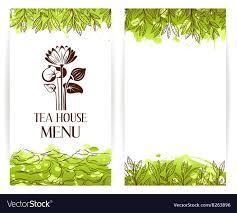 Green Tea Menu Template