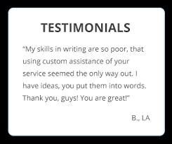 essay writing service that you can trust com testimonial