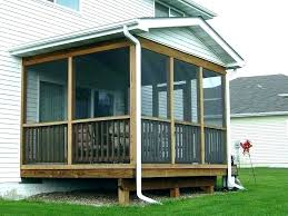 porch plans free screen porch plans covered mobile home amazing ideas of simple house with screened porches building free porch swing frame plans free