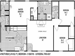 Marvelous Double Wide Trailer Floor Ideas And Incredible 3 Bedroom Mobile Home Plans  Dealers In Iowa Homes Elegant Modern Modular Of
