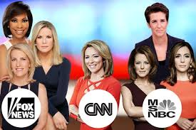 We did not find results for: Cnn Lags Behind Fox News Msnbc In Female Representation On Air