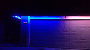 under eave lighting. Light Show 2013 - Testing RGB Strips As Under Eves Flood Lights Eave Lighting U
