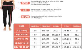 N1fit Sweatpants Women Joggers Workout Running Yoga Sweat Pants Black S 2xl