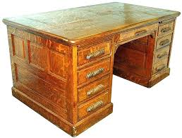 solid oak office desk. Oak Office Desk Antique Executive Fabulous C Solid