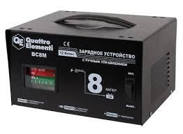 Зарядное <b>устройство QUATTRO ELEMENTI BC</b> 8M - цена, фото ...