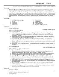Cv Samples For Engineering Students Mechanical Engineer Cv Template Cv Samples Examples
