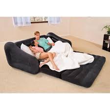 intex inflatable furniture. Intex Queen Inflatable Pull Out Sofa Bed \u2013 Walmart Regarding Sofas (Photo 9 Furniture