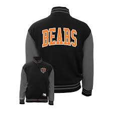 Ness Jacket Varsity Chicago Fleece Bears Mitchell amp; By