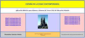 http://cplosangeles.juntaextremadura.net/web/cmedio6/espana_en_la_edad_contemporanea/index.htm