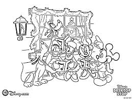 Free Coloring Pages Mickey Mouse Clubhouse Printable Colouring And