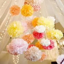 Make Tissue Paper Flower Balls Ipalmay Paper Pom Poms 14inch 35cm Diy Handmade Tissue Paper Flower
