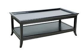 black rectangle coffee table. Oslo Rectangular Coffee Table Black Rectangle