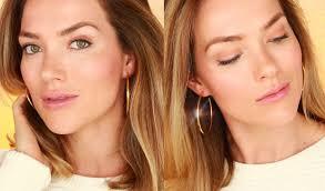 easy no makeup makeup look simple natural makeup for everyday rita almusa