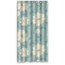 36 width x 72 height special design light green flower pattern waterproof