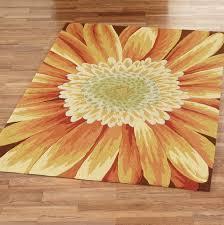 sunflower kitchen rug sets