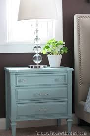 distressed blue furniture. DIY Distressed Blue Furniture O