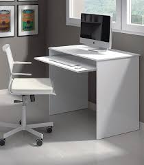 white computer desk. NEW Milan Small White Gloss Computer Desk - By Furniture Factor: Amazon.co.uk: Kitchen \u0026 Home Amazon UK