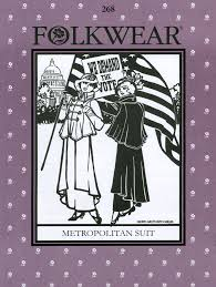 Folkwear Patterns Magnificent Folkwear 48 Metropolitan Suit Pattern Folkwear Patterns Vogue