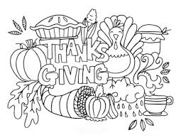 Color dozens of pictures online, including all kids favorite cartoon stars, animals, flowers, and more. 70 Thanksgiving Coloring Pages For Kids Adults Free Printables