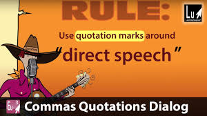 Commas Quotations Dialog Song Learn Grammar Learning Upgrade App