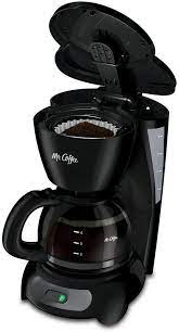 Easy switch with power indicator lights up to show coffee maker is on, or to remind you to shut it off. Amazon Com Mr Coffee 5 Cup Coffee Maker Black Kitchen Dining