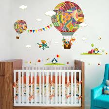Online-Shop Neue Bunte Heißluftballon Bär Giraffe Kinderzimmer ...