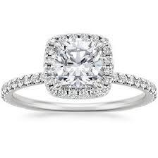 cushion cut engagement rings brilliant earth