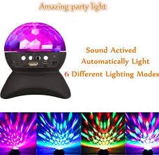 Paradise 2 In 1 Rotating Party Light Amazon Com Disco Dj Wireless Speaker Rotating Led Strobe